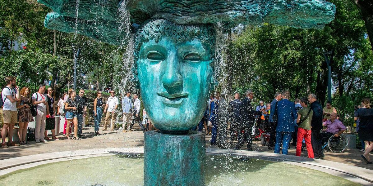 Греческий парк открыли в Одессе