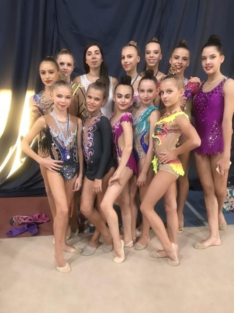 Одесские гимнастки заняли призовые места