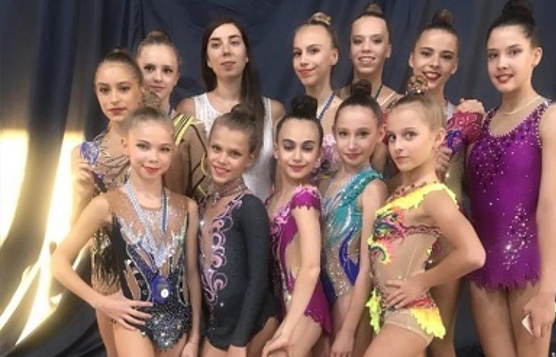 Одесские гимнастки заняли призовые места в Киеве