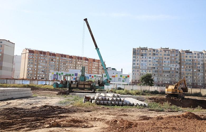 Строительство новой школы в Суворовском районе Одессы