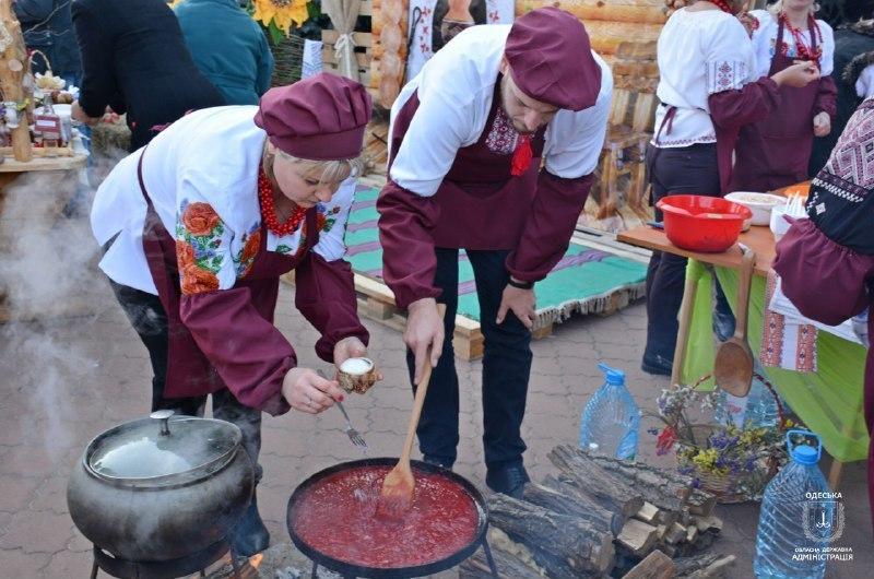 В Одесской области на Чемпионате борща установили рекорд Украины