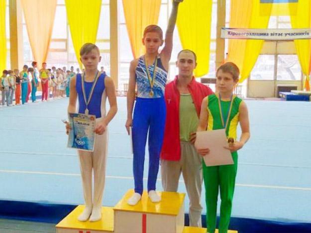 Юные одесские гимнасты заняли 14 призовых мест