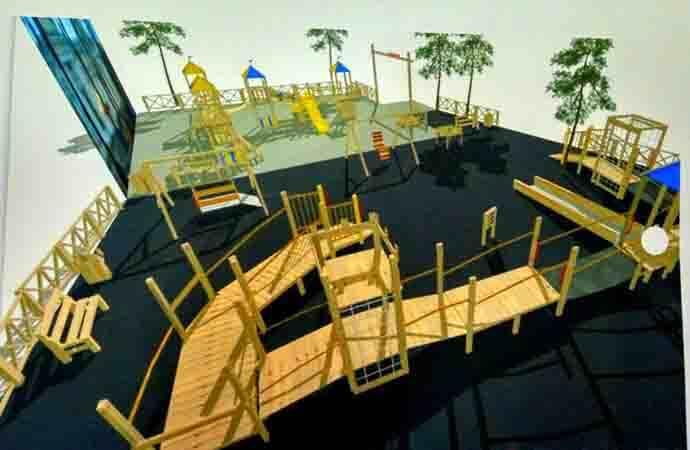 Игровая площадка для детей с инвалидностью