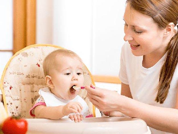 Прикорм малыша — время овощей