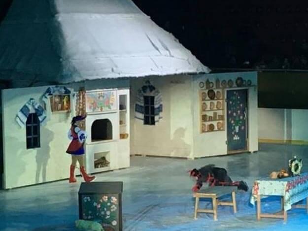Как в Одессе прошла премьера ледового мюзикла «Ночь накануне Рождества»