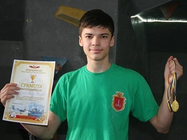 Юные скалолазы одержали победы на турнире в Каменце-Подольском