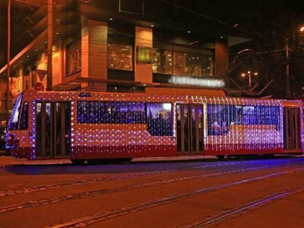 В Одессе на Рождество состоится торжественный парад трамваев