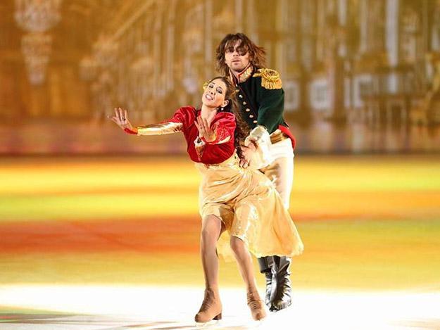 «Юнона» и «Авось» на льду в Одесском Дворце спорта