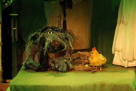 Золотой цыпленок - театр кукол