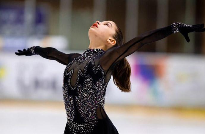 Фигуристка Одессы завоевала бронзовую медаль