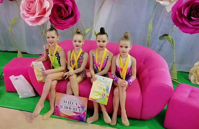 Одесская гимнастка-школьница стала лучшей в Киеве