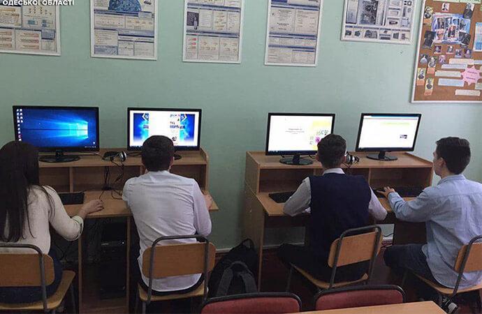 Уроки по кибербезопасности провела полиция в Одессе