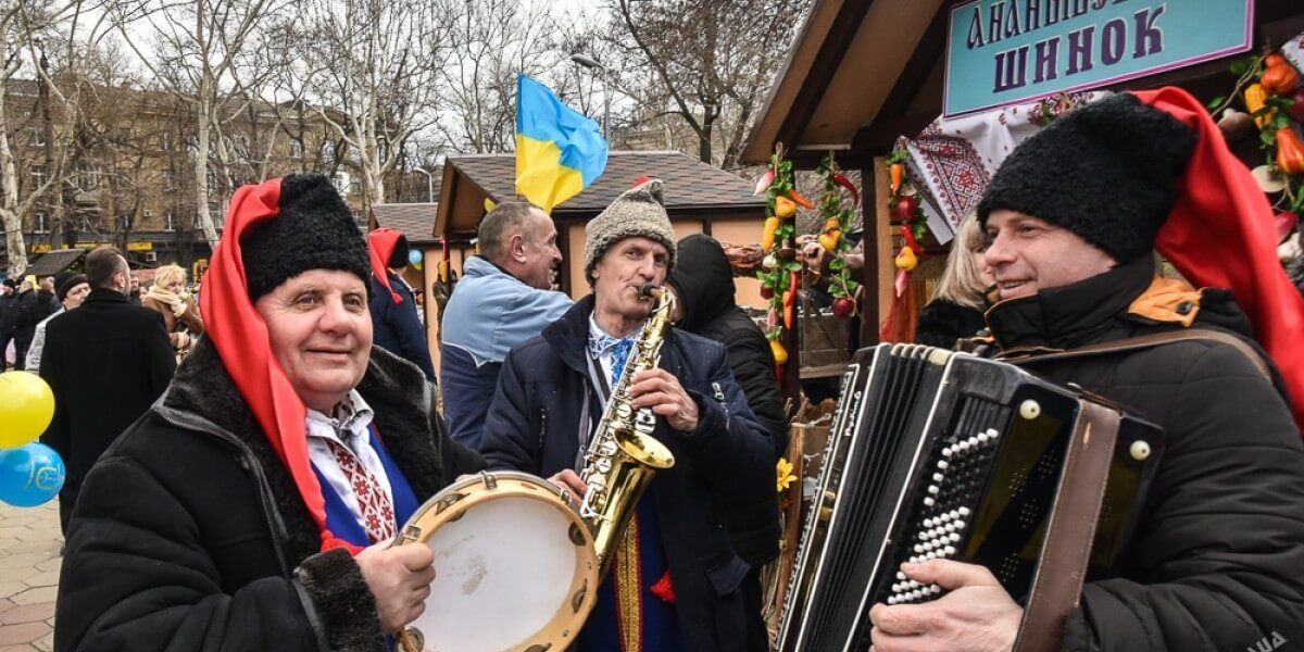Годовщина Одесской области 87 лет