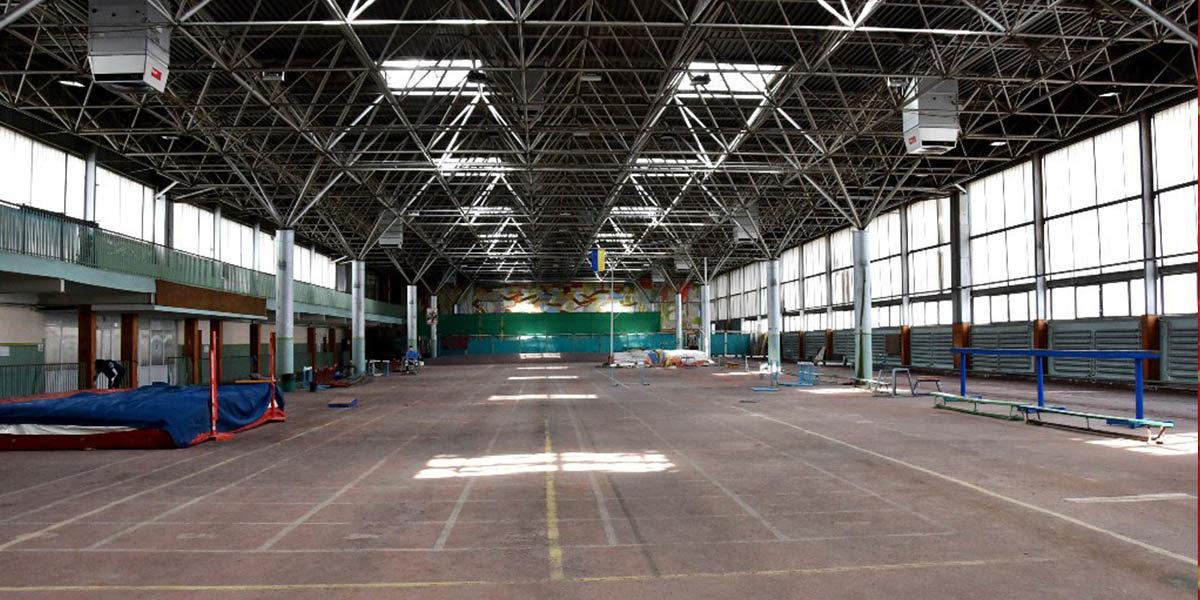 Ремонт крыши «Олимпийца» закончиться через месяц