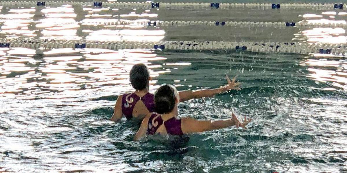 в Одессе прошел чемпионат  по синхронному плаванию