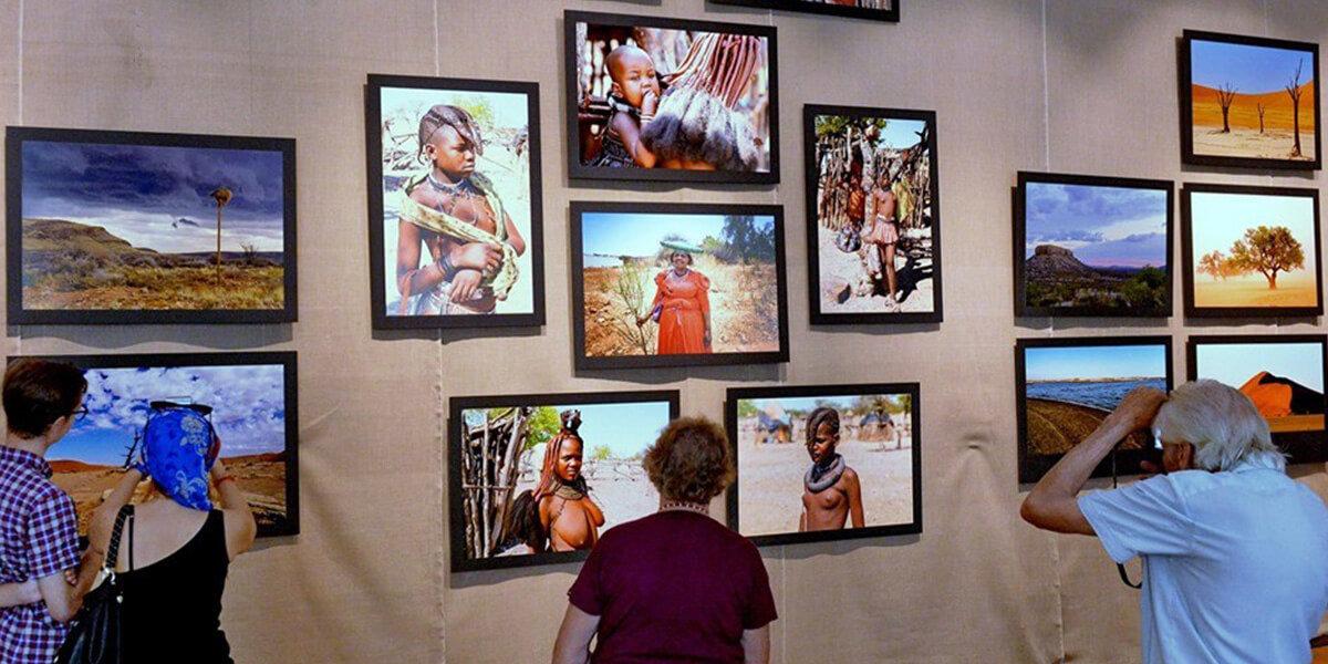 Фотовыставка о Намибии
