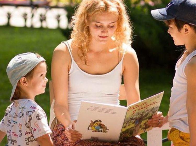 Чтения для самых маленьких в Зеленом театре