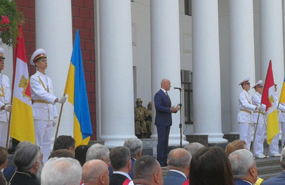 Празднование 225-летия Одессы