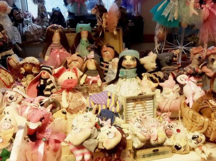 Рождественская ярмарка в Кирхе
