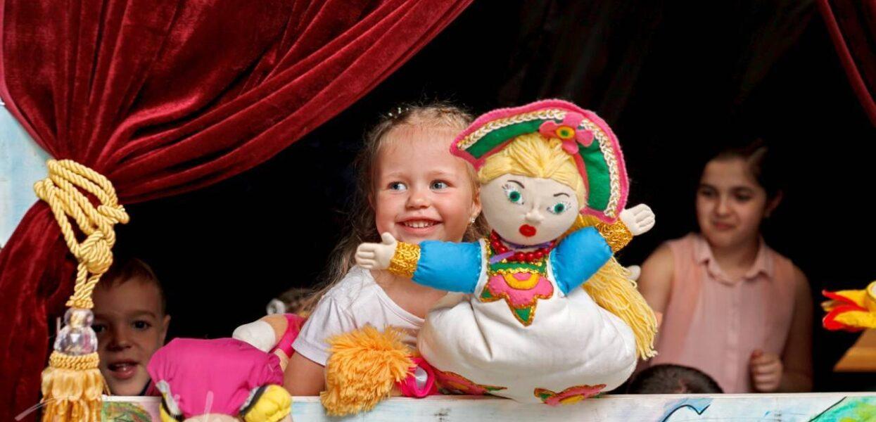 Интерактивный кукольный театр для детей