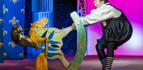 Шоу-спектакль Театр кошек Куклачёва «Я – клоун, или КОТОстройка»
