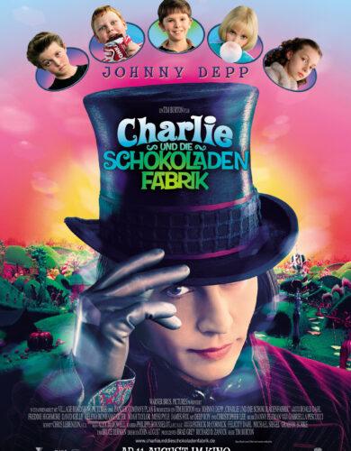 Давайте смотреть Чарли и шоколадная фабрика🎩.