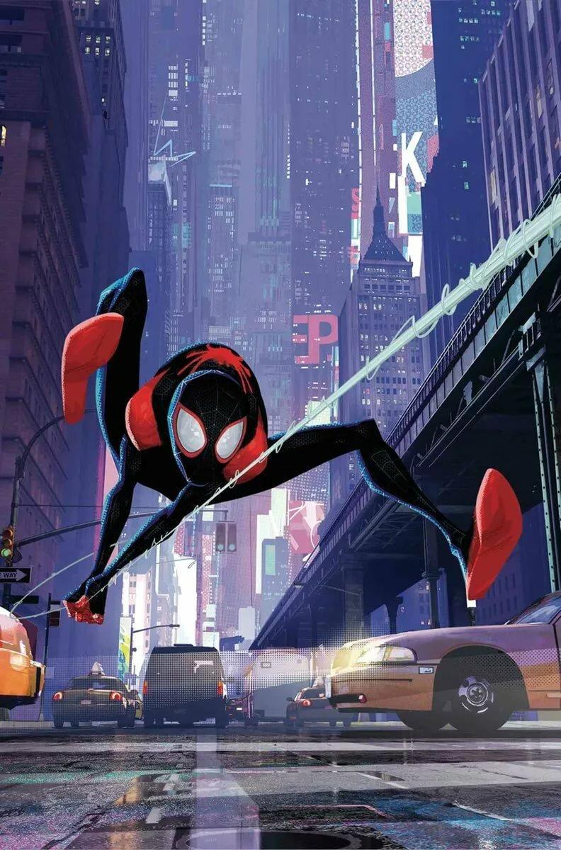 Человек-паук: Через вселенные - Афиша детских мероприятий ...